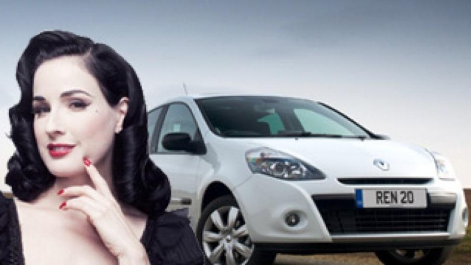 Ban on Dita Von Teese's Renault ad