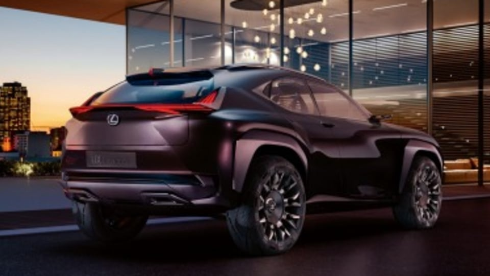 Lexus UX Concept hints at city SUV
