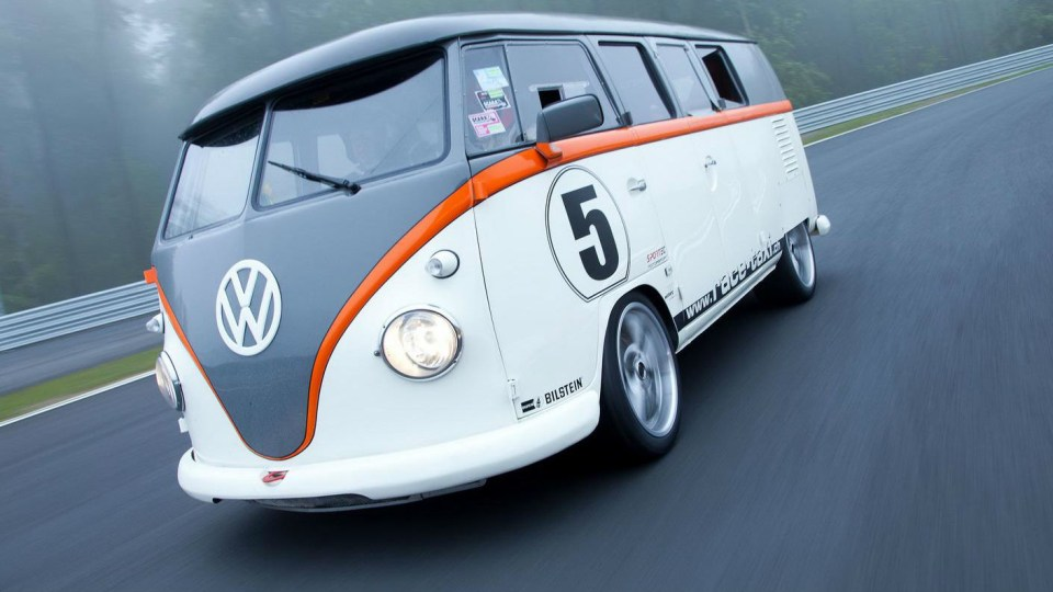 Porsche-Powered 'Racing Taxi' VW Kombi Unveiled At Woerthersee