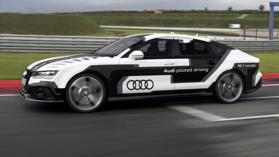 Audi RS7 Laps Hockenheimring At Race Pace, Without A Driver: Video