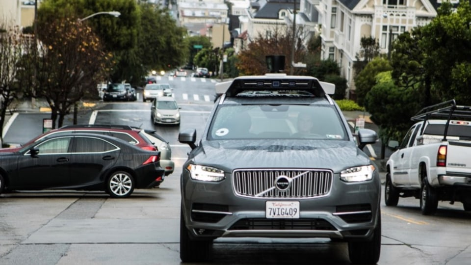 Volvo's first driverless car not for Australia