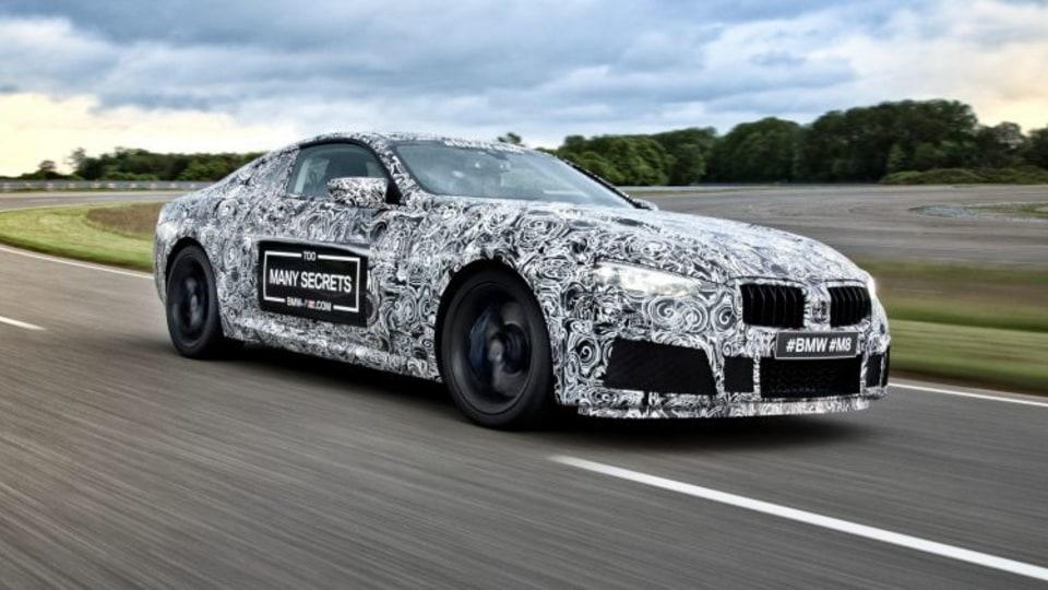 M8 super coupe to crown new BMW 8-Series line-up