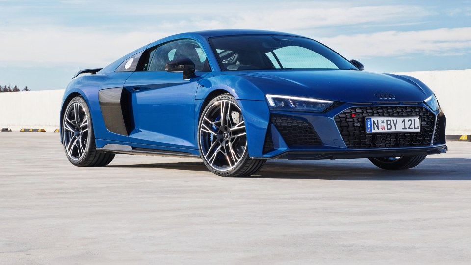 2020 Audi R8 V10 review