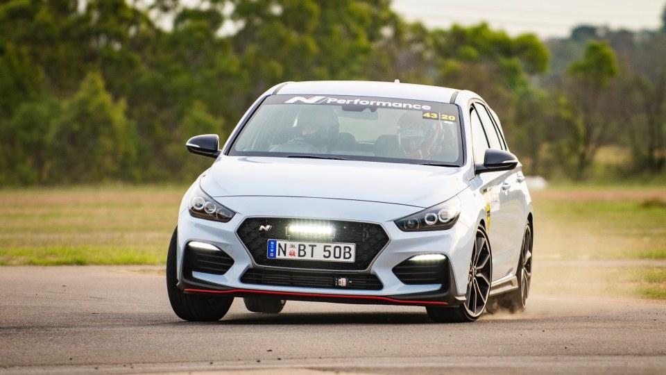 Hyundai i30 N track test Ali says, Steve says