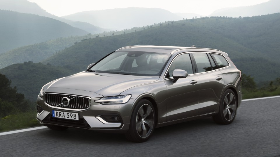 Volvo's new V60 wagon leaves a strong first impression.
