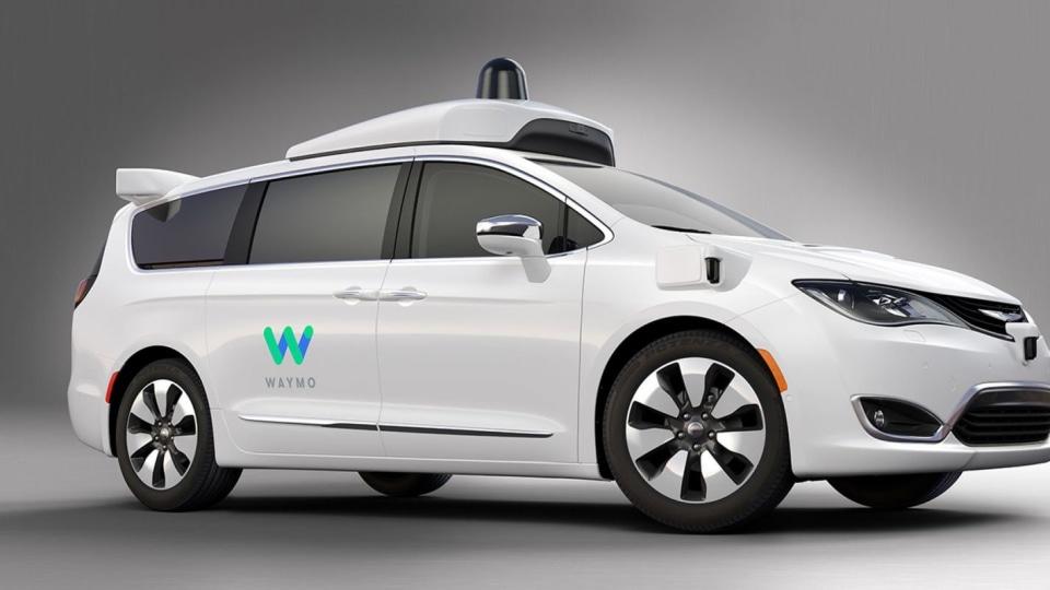 Google's Waymo and Chrysler Roll Out Autonomous Trial Vans