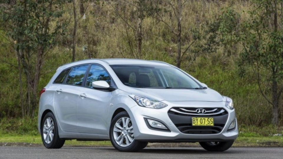 Affordable and agile: The Hyundai i30 Tourer compares favourably with the CR-V.