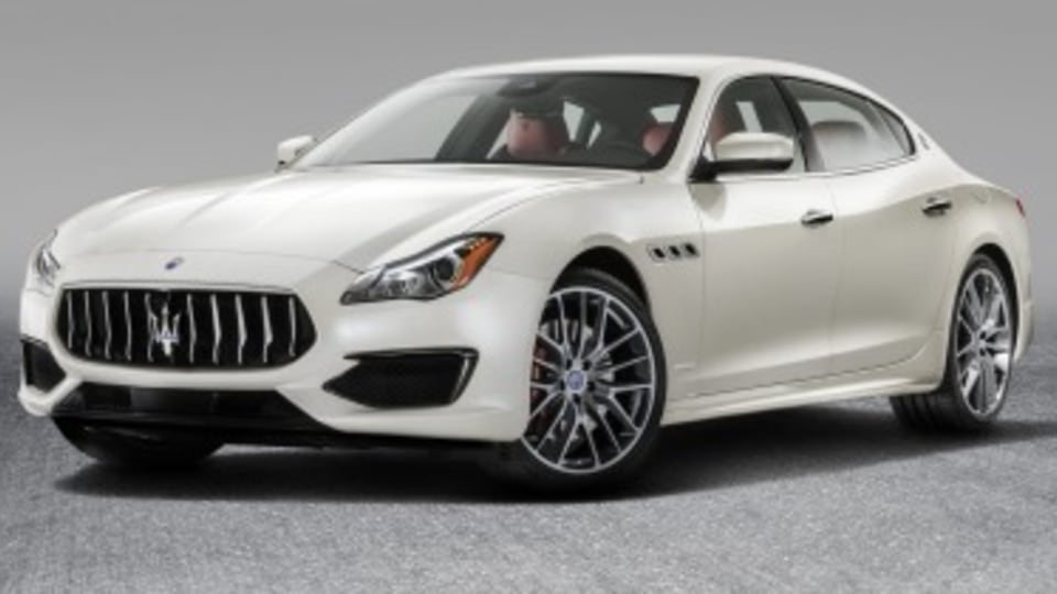 Maserati updates Quattroporte for 2017