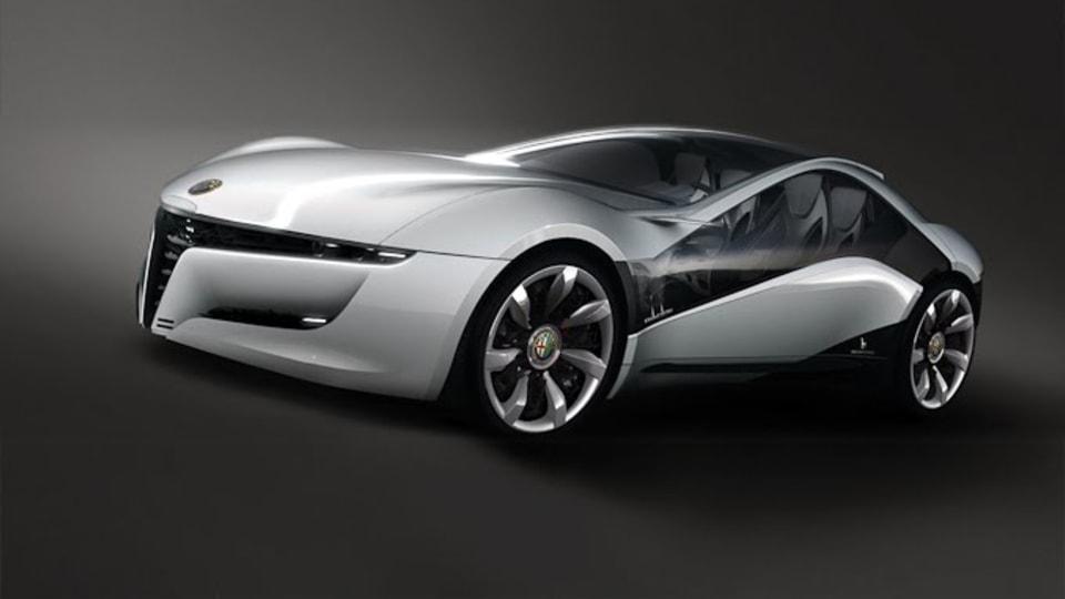 2010 Alfa Romeo Pandion Concept By Bertone Revealed Ahead Of Geneva Unveiling