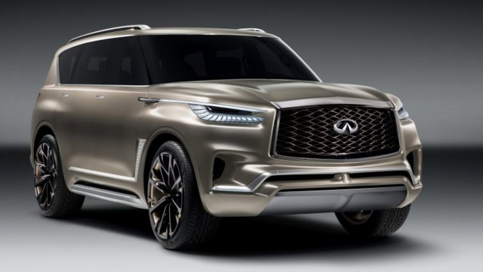 Infiniti QX80 Monograph concept will be on display at the 2017 New York motor show.
