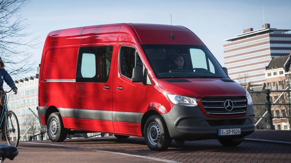 2018 Mercedes-Benz Sprinter first drive review