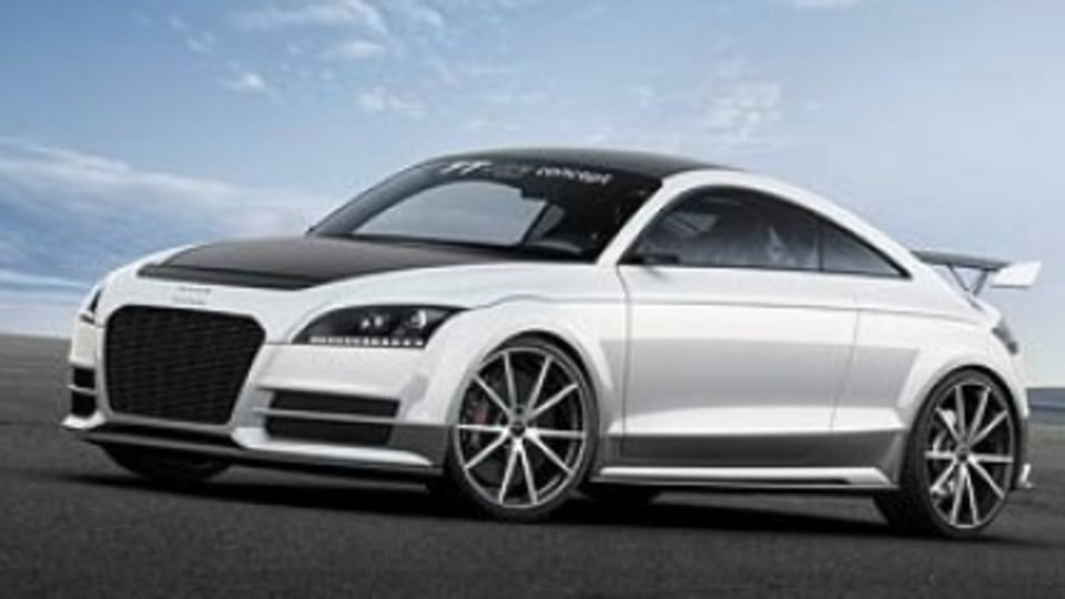 Audi reveals lightweight TT Ultra Quattro