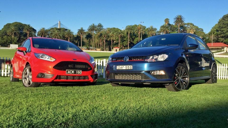 2016 Ford Fiesta ST vs 2016 Volkswagen Polo GTI Comparison REVIEW | The 'Little' Hot-hatch Showdown…