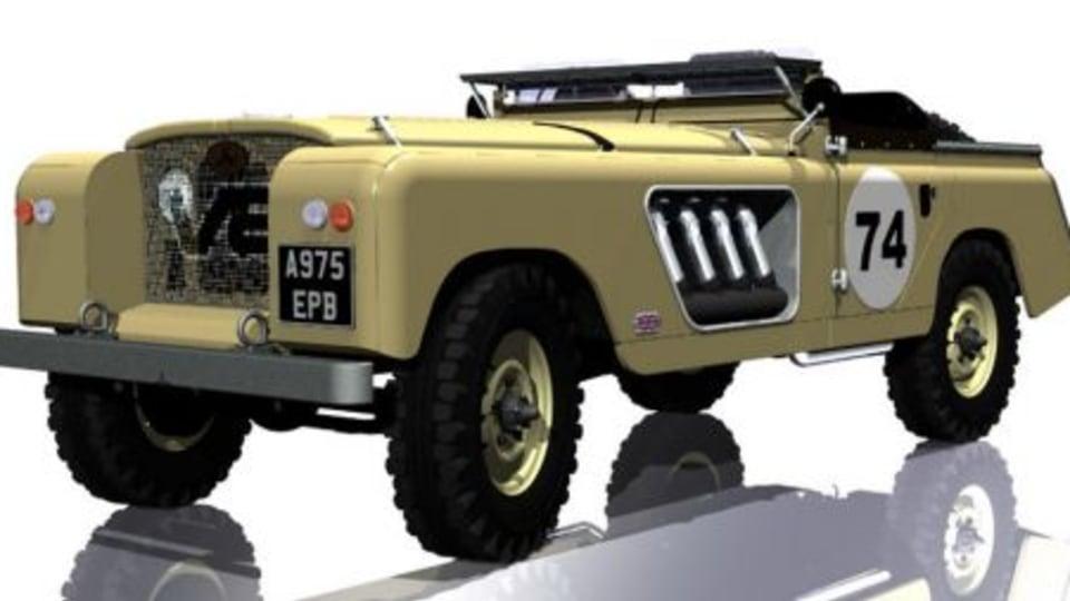 German nutcases construct V16-powered Land Rover based behemoth