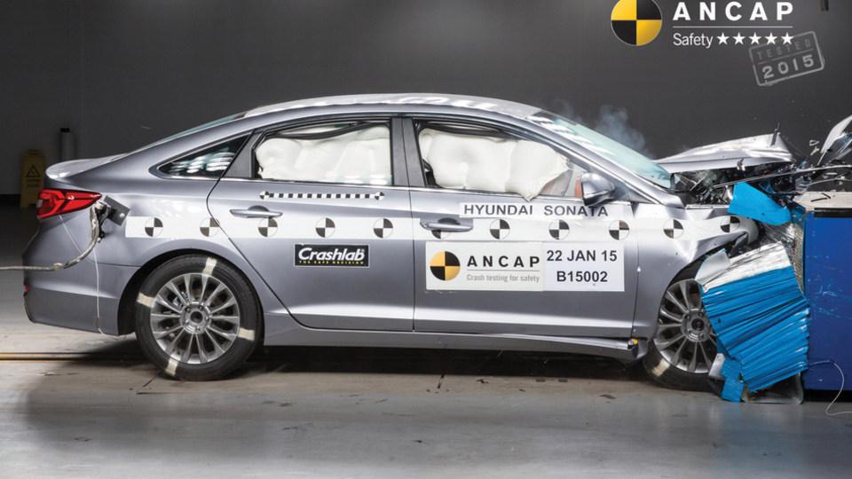 ANCAP: 5 Safety Stars For New Sonata, 4 For Suzuki's Delayed Celerio
