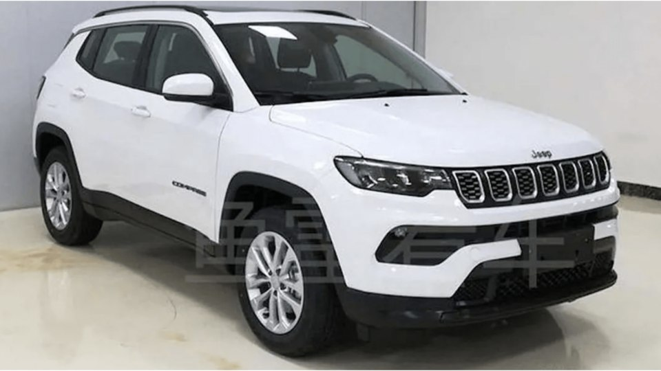 2021 Jeep Compass and Compass Trailhawk facelifts leaked
