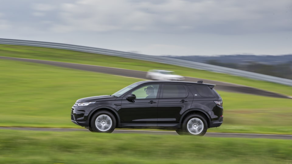 Drive Car of the Year Best Medium Luxury SUV 2021 finalist Land Rover Discovery Sport