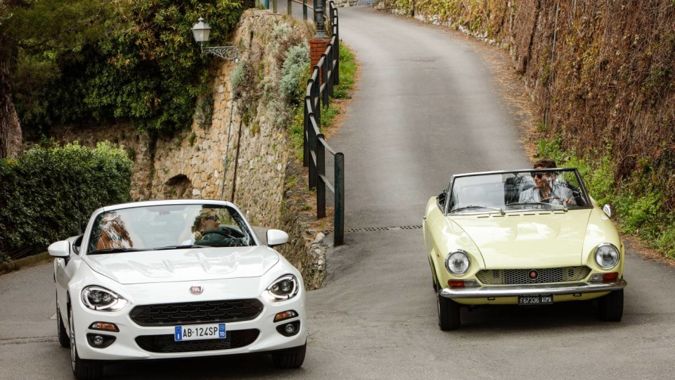 Fiat Celebrates 50 Years Of The 124 Spider