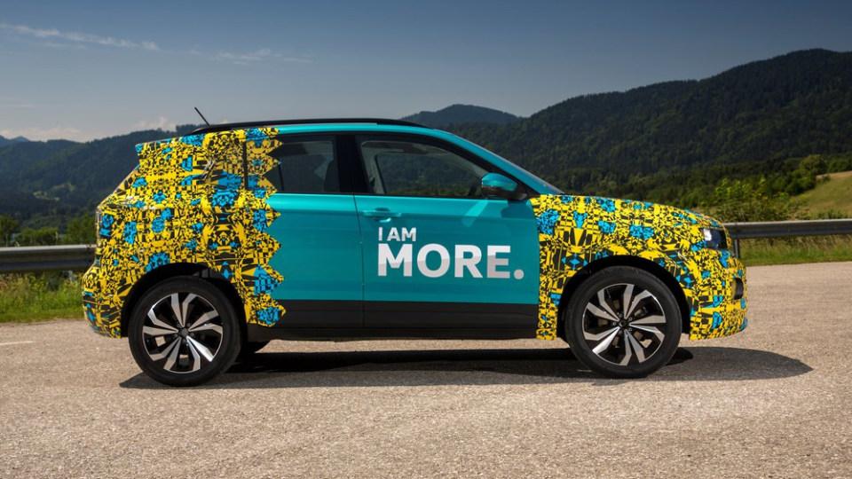 Volkswagen T-Roc pre-production drive