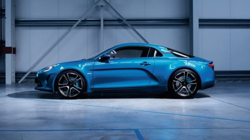 Production-Ready 2017 Alpine A110 Coupe Makes Official Debut