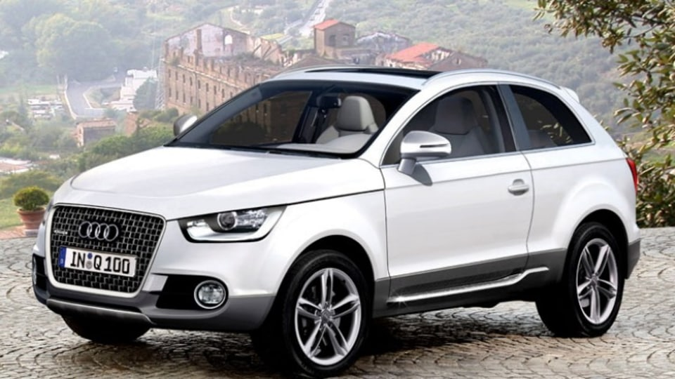 Audi will build an even smaller compact SUV, dubbed the Q2.  Illustration: Automedia.