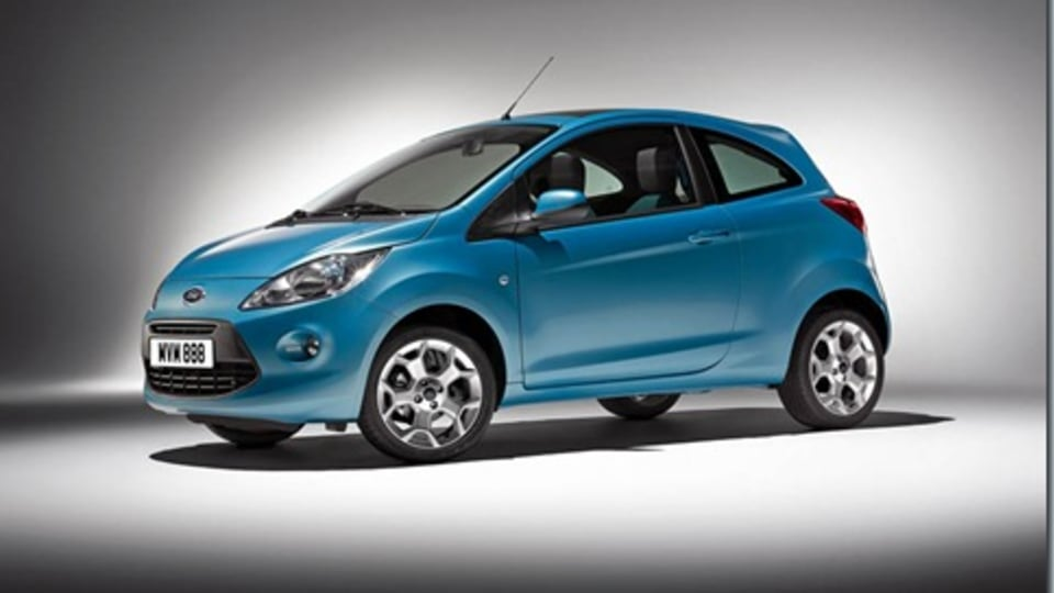 2009 Ford Ka Official Images Released Ahead of Paris Launch