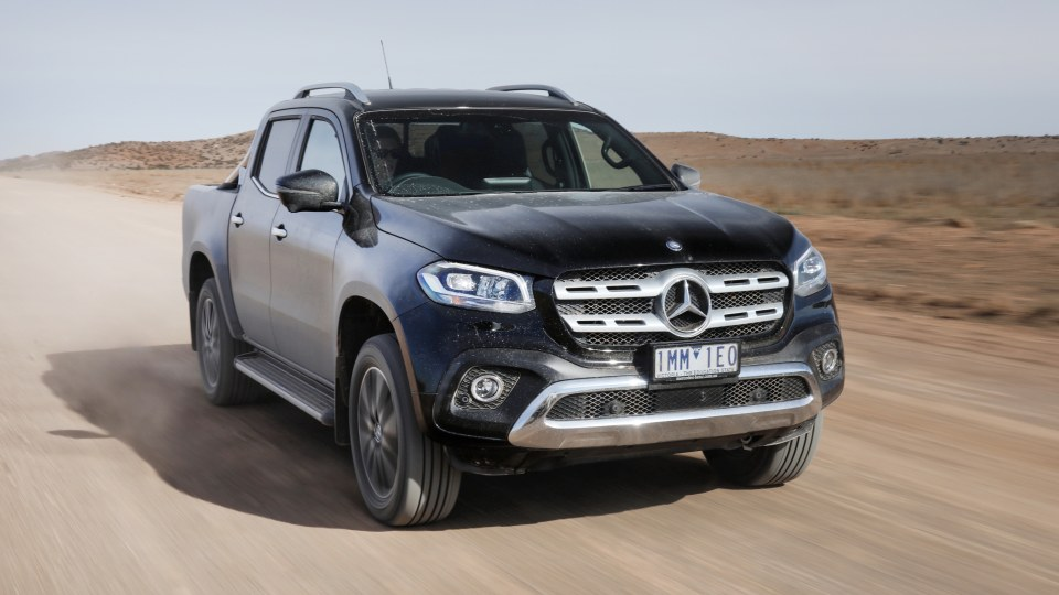 Outback Ute Comparison - Mercedes-Benz X250d Power