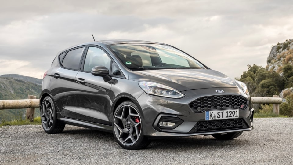 2018 Ford Fiesta ST Overseas Preview Drive