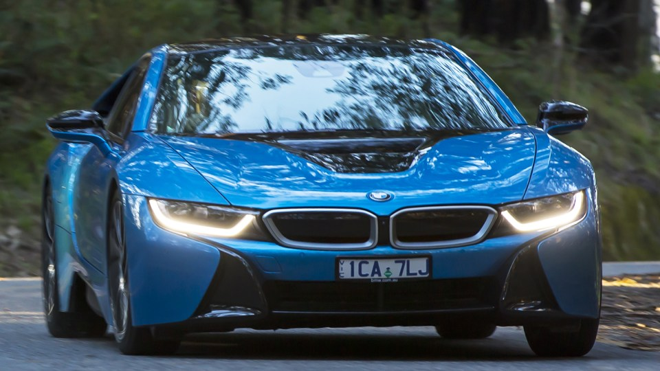 BMW i8 Review: Preview Drive
