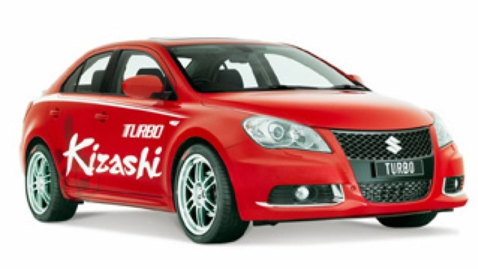Suzuki surprises with a turbo Kizashi