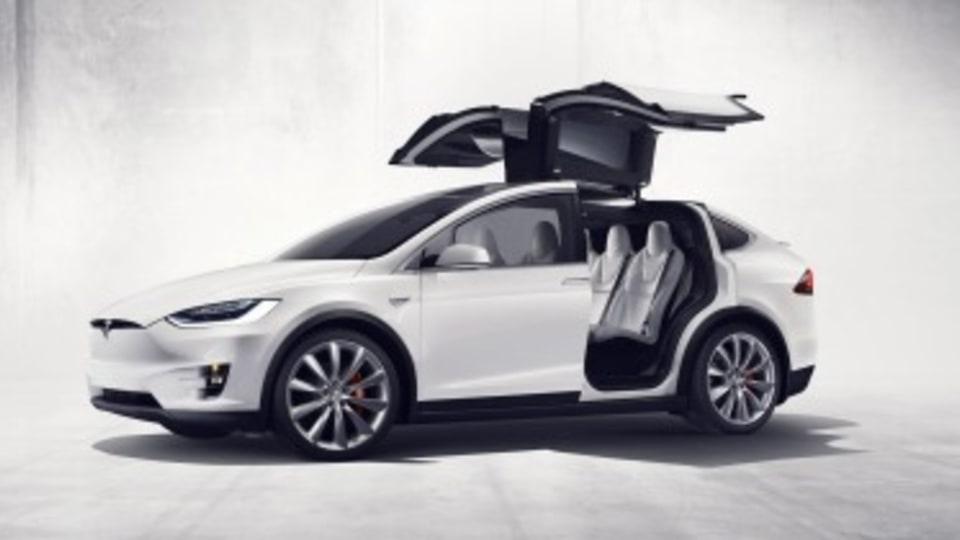 Tesla Model X unveiled