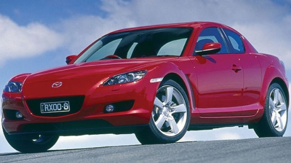 The Mazda RX-8 is a rare gem.