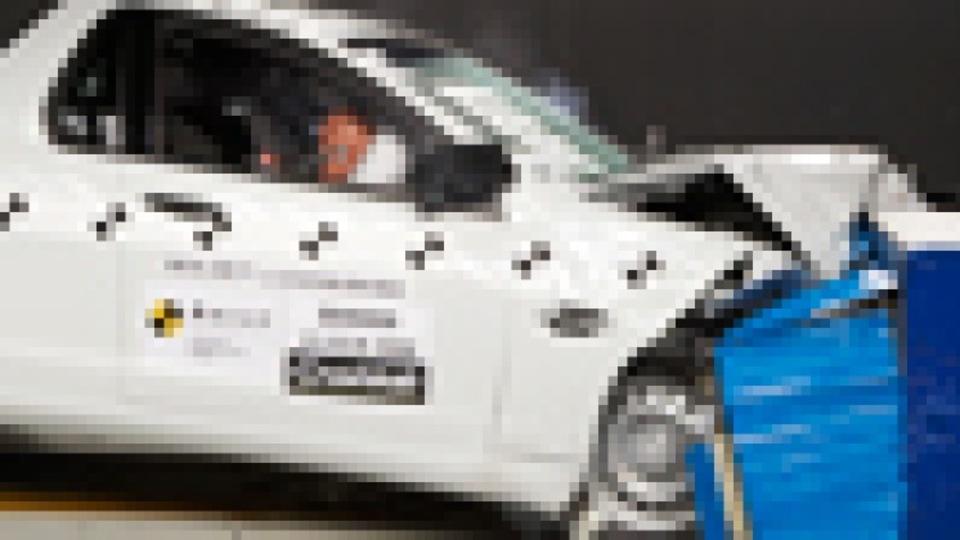 Holden Commodore ute ANCAP test