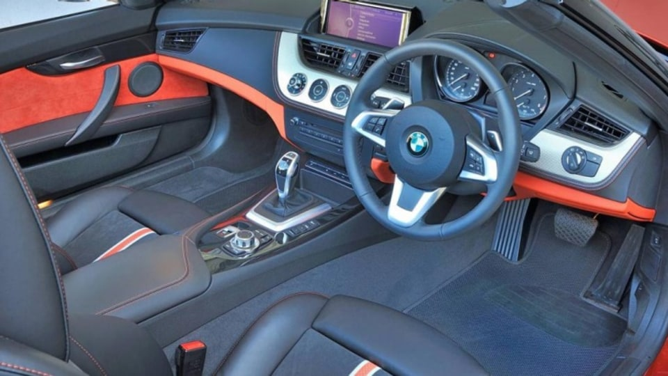 The updated BMW Z4.