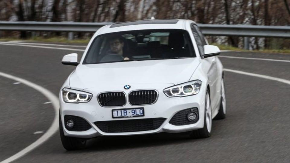 2017 BMW 125i.