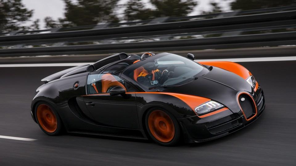 Bugatti Veyron GTS Vitesse Sets Drop-Top Speed Record