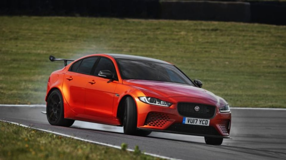 2017 Jaguar XE SV Project 8.