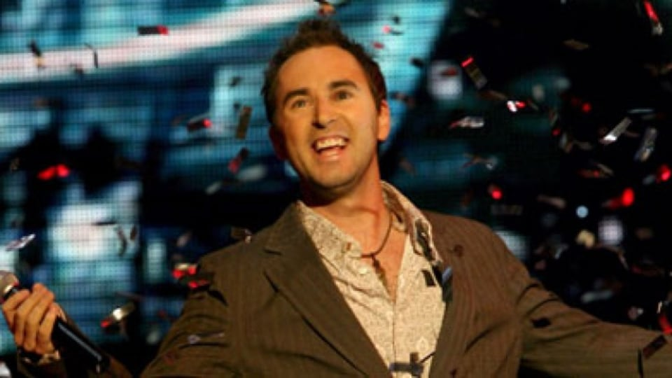 Australian Idol winner Damien Leith.