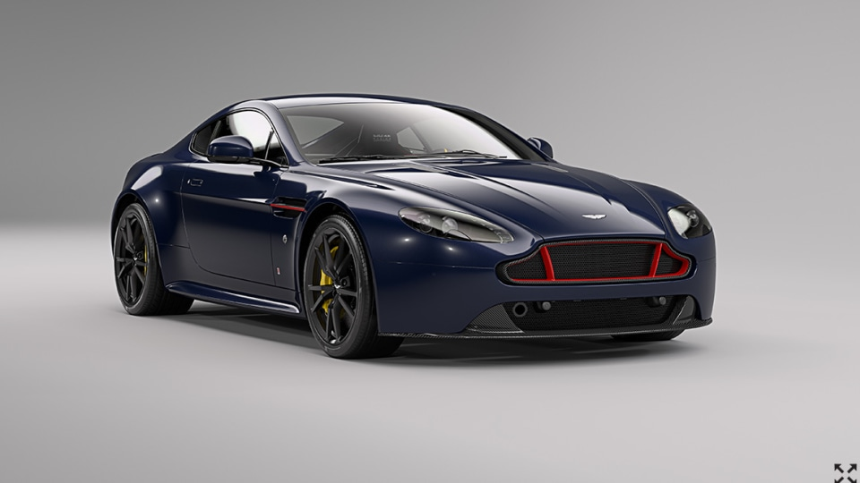 Aston Martin Unveils Vantage V8 And V12 Red Bull Racing Editions