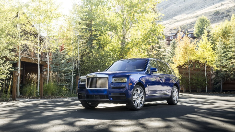 Rolls-Royce Cullinan first drive