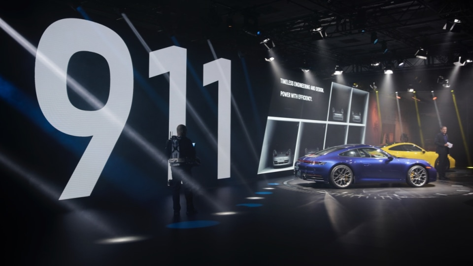 Porsche 911 on track for sales record as new model debuts