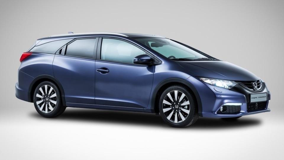 2014 Honda Civic Tourer Wagon Unveiled Ahead Of Frankfurt Debut