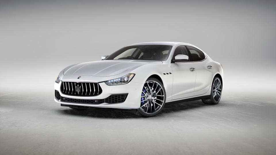 Maserati reveals special edition saloon