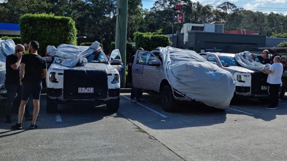 2022 Ford Ranger caught testing on NSW roads