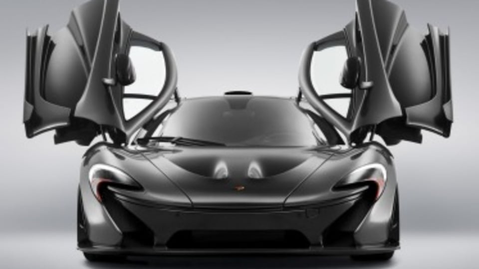 McLaren P1 replacement to go electric