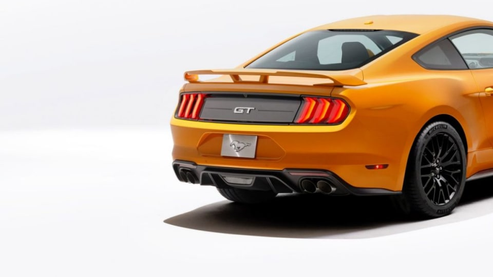 2018 Ford Mustang.