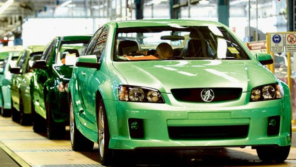 Holden manufacturing