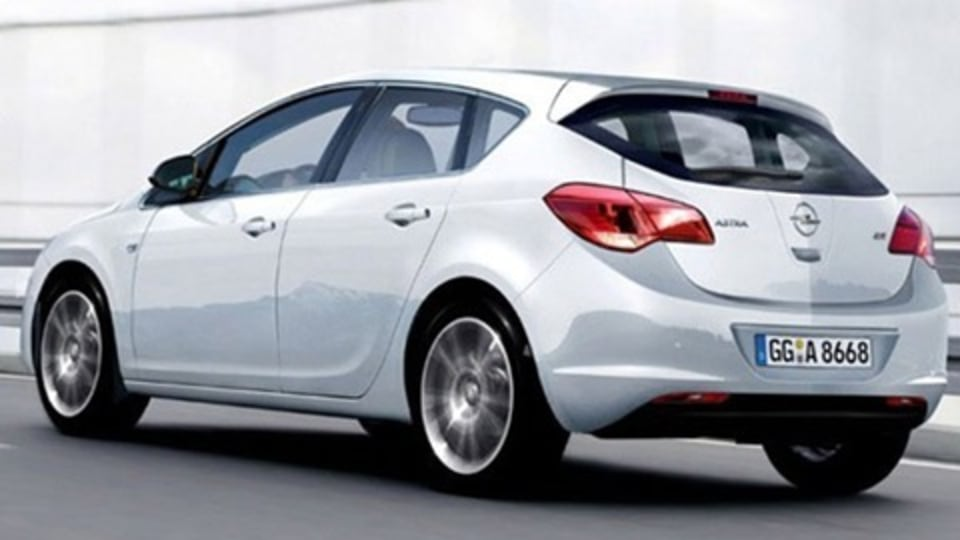 2010 Opel Astra Revealed In Leaked Images?