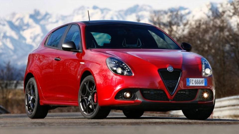 2016 Alfa Romeo Giulietta.