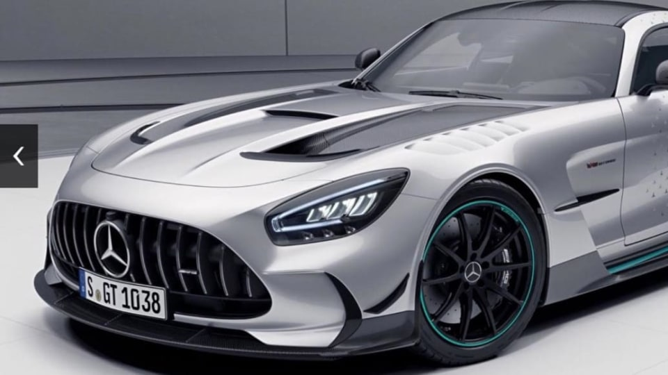 Mercedes-AMG GT Black limited edition only available to Project One buyers